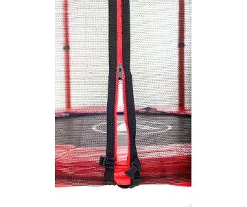 Батут 140 см з сіткою червоний