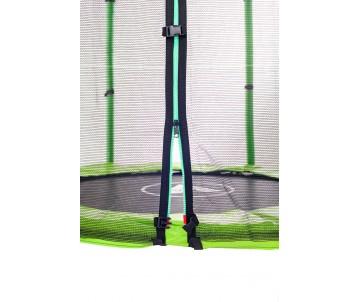 Батут 140 см з сіткою зелений