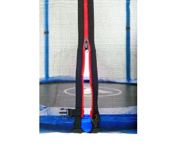Батут 140 см з сіткою синій