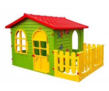 Пластиковий будиночок Garden House з терасою