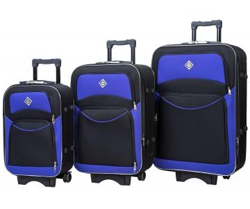 Набір дорожніх валіз Style 3 штуки синій