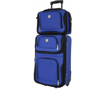 Комплект валіза і сумка Best маленький синій