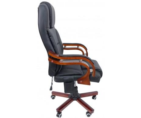 Крісло офісне Prezydent з масажером Black