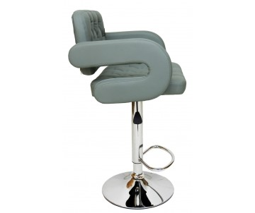 Барний стілець Hoker BA Сірий