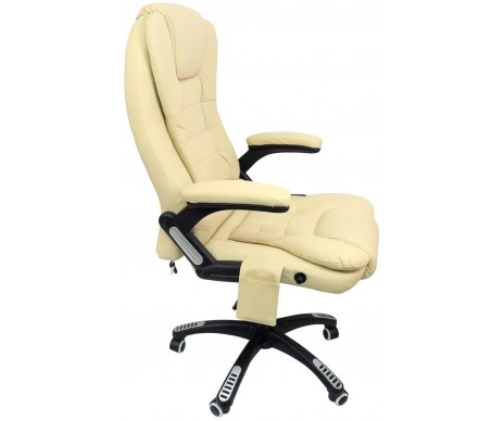 Офісне крісло з масажером Beige