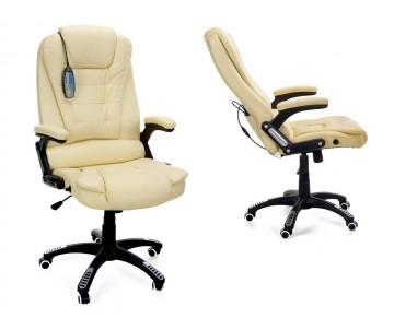 Крісло AV03MH Beige масаж/підігрів