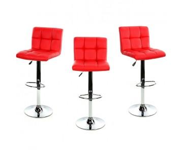 Барний стілець Hoker червоний