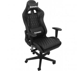 Ігрове крісло 1018 чорне