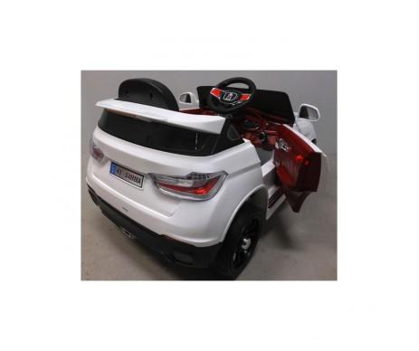 Eлектромобіль B12 м'які колеса EVA білий колір