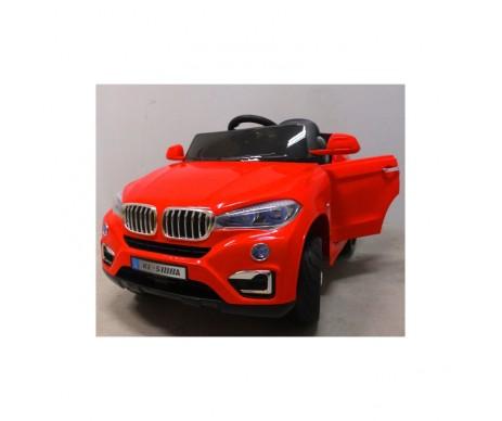 Eлектромобіль B12 м'які колеса EVA червоний колір