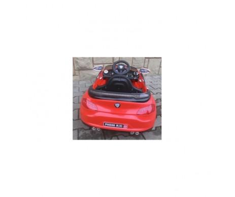 Eлектромобіль B3 з м'якими колесами EVA червоний